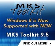 Toolkit 9.5 Supports Unix to Windows 8
